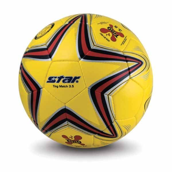 Free shipping! High quality Children Match use Star Soccer Ball/Football Size 3.5 SB3135-05 Ting Gift: gas pin & net bag