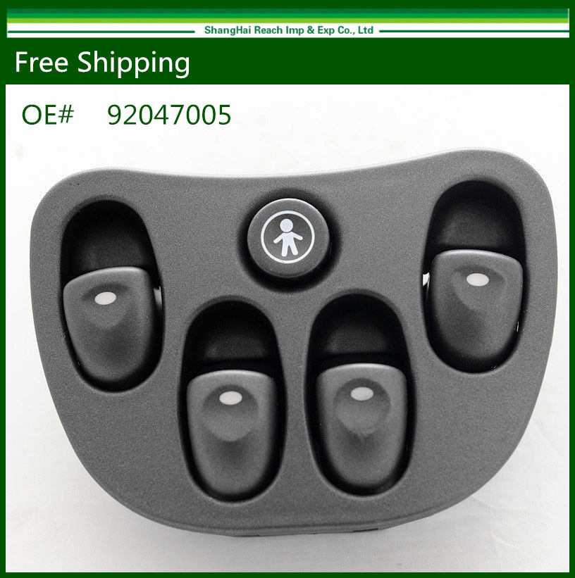 New Electric Power Window Master Switch For Holden VT VX Commodore 92047005(China (Mainland))