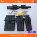 Free Shipping 25 sets 1 2 3 4 6Pin way HID Waterproof Electrical connector plug kits
