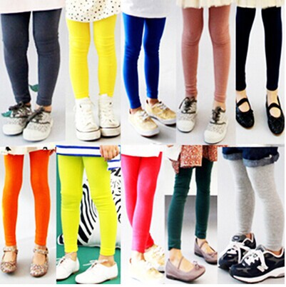 2014 autumn outfit han edition new candy color female children's clothing pants leggings - balabala11 store