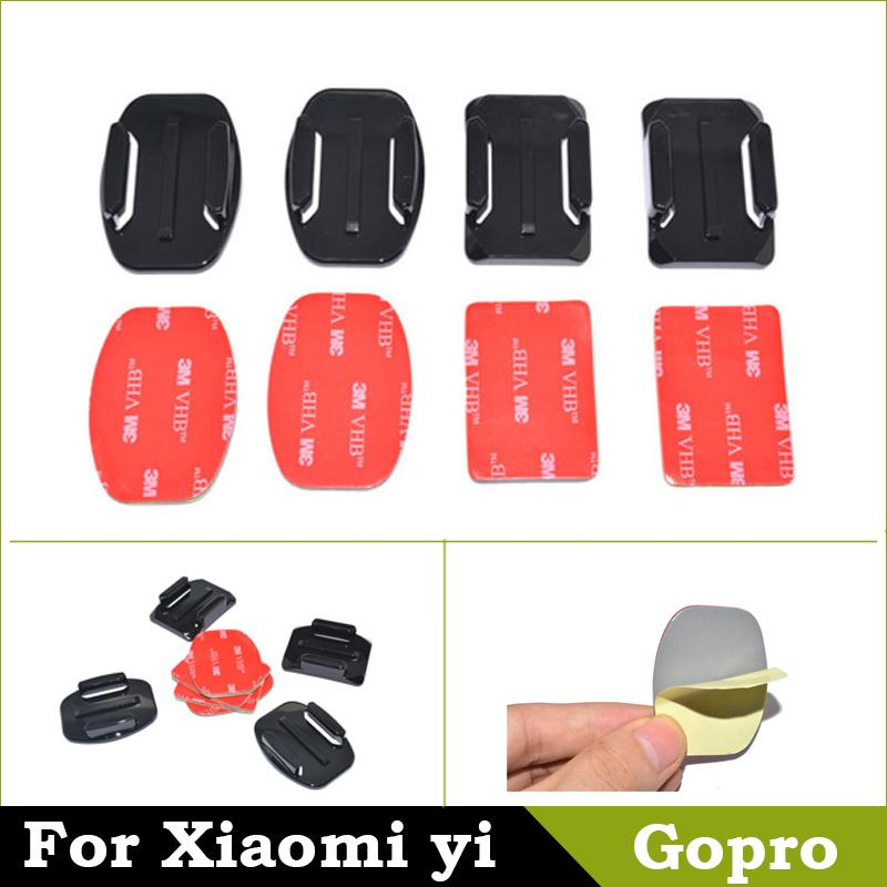 Штатив OEM 2 + 2 GoPro Hero 4 3 SJ4000 GoPro Xiaomi yi For gopro adhesive mounts waterproof hard eva carrying box bag case for gopro hero 1 2 3 3 plus 4 xiaomi yi sj4000 sjcam