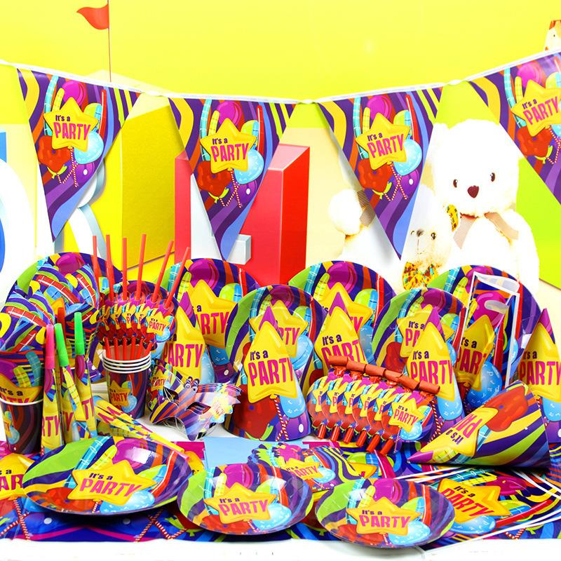 78pcs Cars Luxury Kids Birthday Decoration Set Theme Party Supplies Baby Birthday Party Pack candy bar