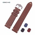 New Arrival High Quality Genuine Calfskin Leather Watchband Straps 20mm