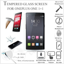 OnePlus One film A0001 2.5D Explosion-proof Tempered Glass Screen Protector Film one plus - elawen baba's store
