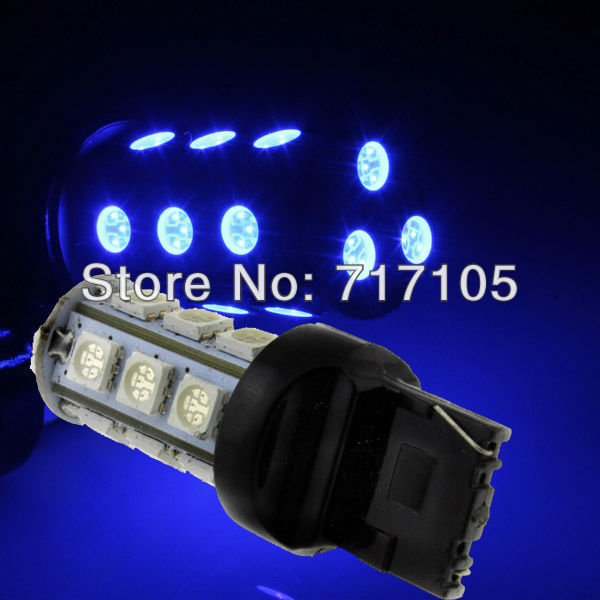 FreeShipping 1 Turn light 18smd T20 18SMD LED BLUE Headlight Bulbs Light NEW Fog lamps Taillights - guanghuang Auto bloc store