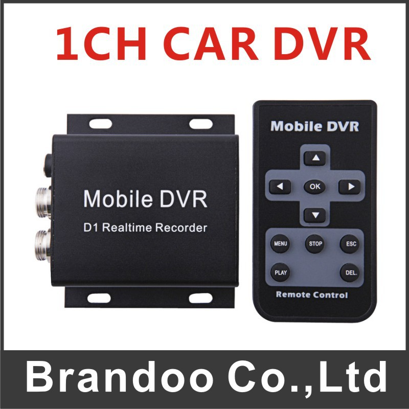 Inexpensive 1 channel TAXI DVR system, works with 64GB sd card, cctv camera, auto recording model BD-300B(China (Mainland))