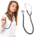 Portable Dual Head EMT Clinical Stethoscope Medical Auscultation Device Estetoscopio Littmann Fonendoscopio health care Monitors