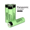 4PCS New Original 18650 Battery 3 7V 3400mAh NCR18650B Li ion 18650B rechargeable battery for panasonic