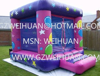 Interesting birthday gift inflatable bouncy castle