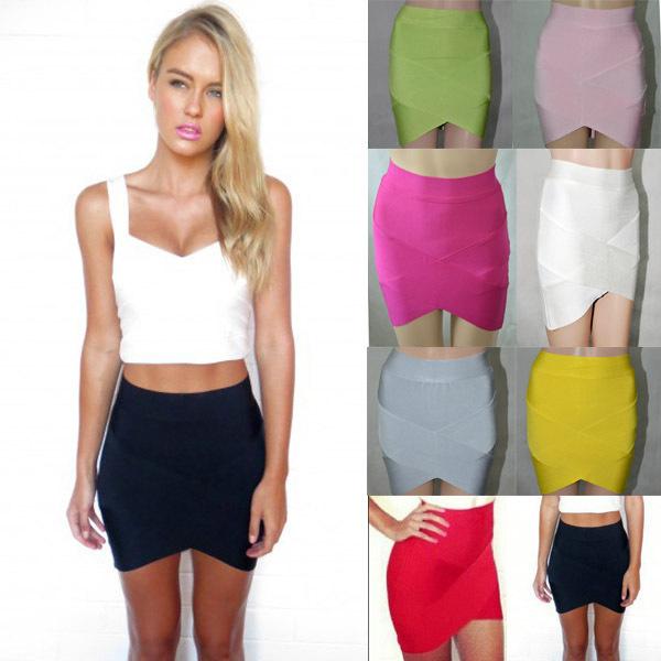 Bandage SV001 Skirt Sexy V Leg Skirt Many Colors In Stock Mixed Order  Inverted V Shape Hem Sexy Party Bandage Skirt