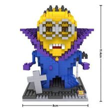 Despicable Me Action Figures Minions Toys ABS Model Building Blocks Christmas Present Gift for Kids(China (Mainland))