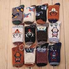 New Autumn Winter Kawaii Colorful Owl Socks Women's Casual Cotton Blend Socks Women Girls Cartoon Owl Print Cotton Ankle Socks