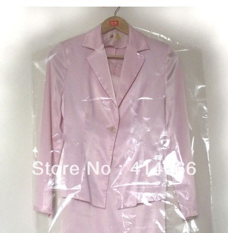 Home incorporating dust bag / Transparent dust cover suits /Best clothes cover dry cleaners ,Free shipping(China (Mainland))