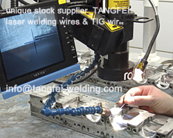 Free shipping 0.5KG/spool 2344 die-casting aluminum&copper casting laser welding wire 0.5mm good price(China (Mainland))