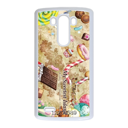 Retro Vintage Sweetheart cake Canada Designs front cover clone caso Hard plastic case for LG G3 Bright Colored(China (Mainland))