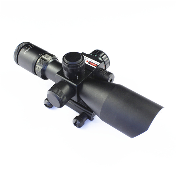 2015 New 2.5-10X40 high power compact scope riflescopes military rifle optic red dot laser sight - TOP10 Binoculars Telescope store