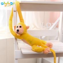 60 centímetros Kawaii Macaco Braço Longo do Braço ao Rabo De Pelúcia Brinquedos Do Bebê Dormir Apaziguar Bonecas Animal de Pelúcia Macaco de Pelúcia crianças Brinquedos de Presente(China)