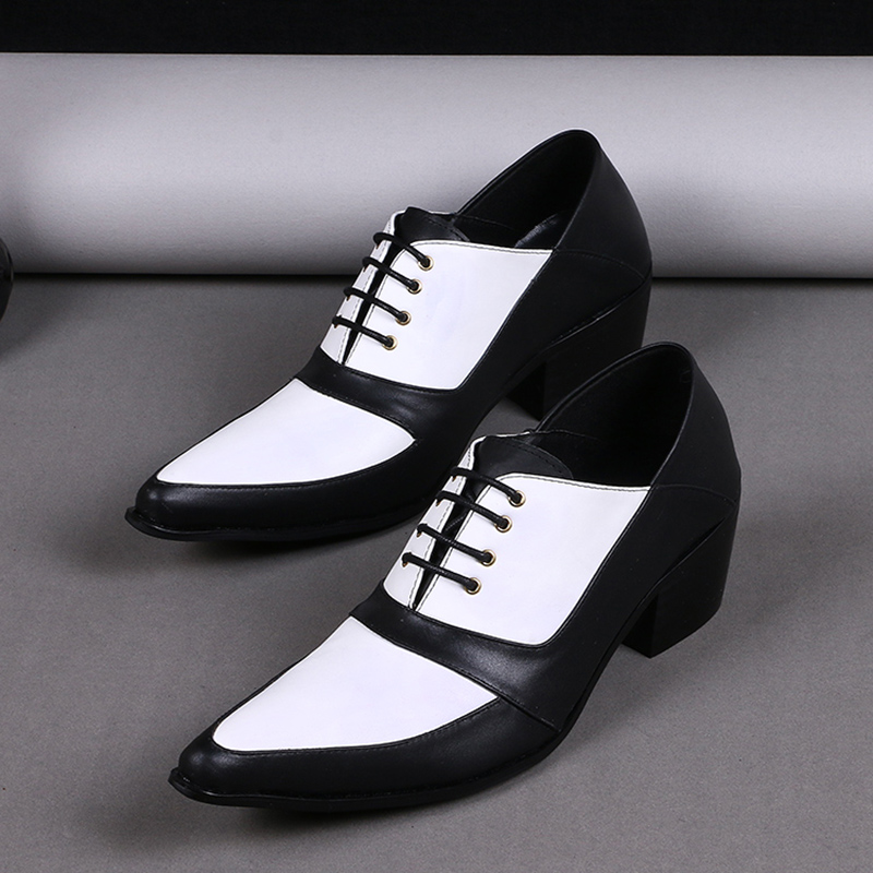 new arrival cheap mens shoes casual black white dress
