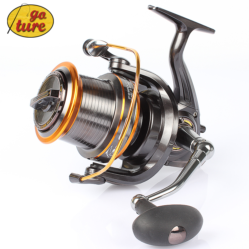 Goture top quality lj9000 spinning fishing reel 12 1bb for Top fishing reels