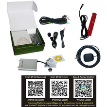 Car Vehicle Truck GPS Tracker & GPS Tracking System AVL Device with A-GPS & Extra Slim Metal Case(China (Mainland))