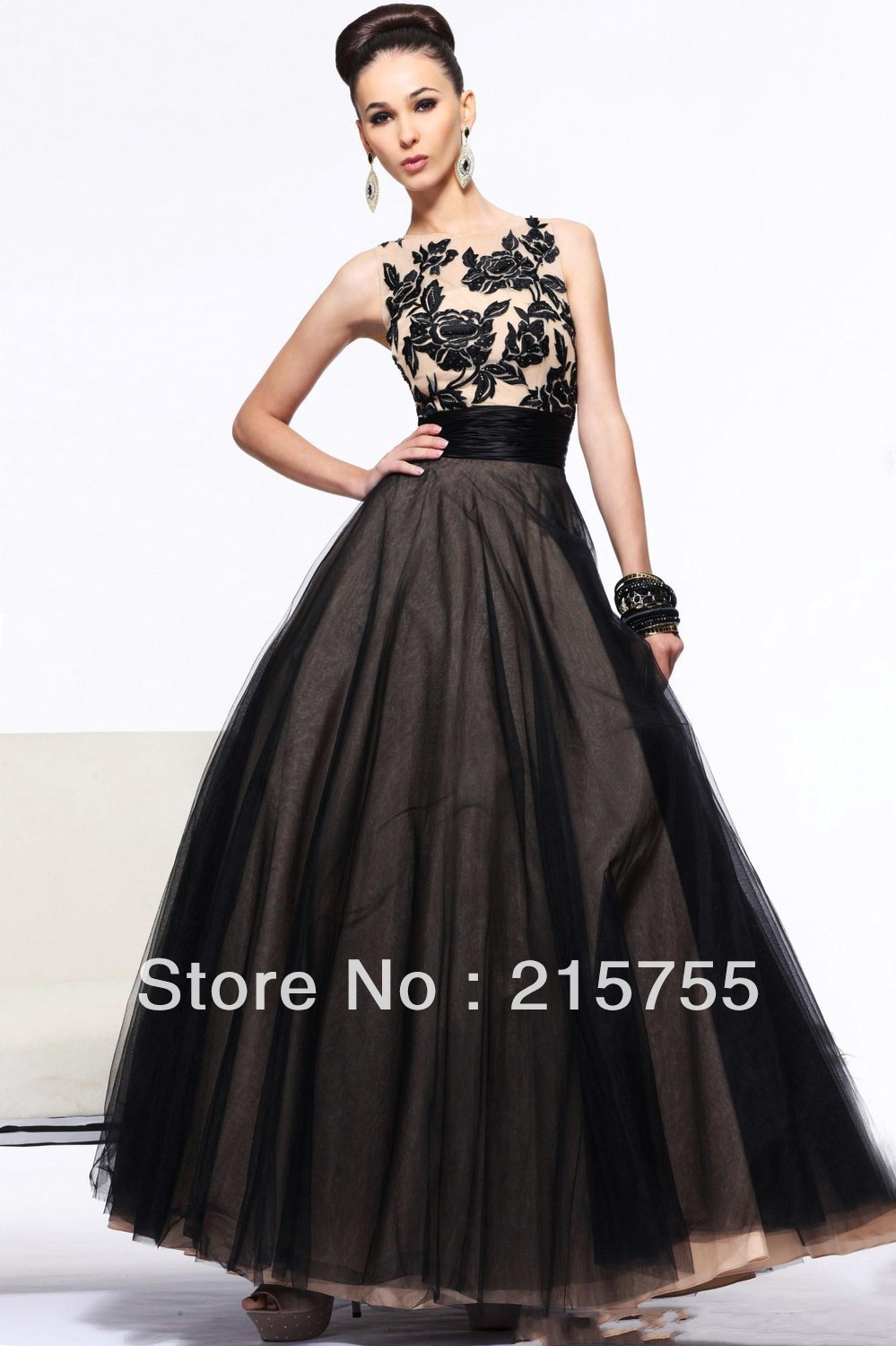 Mid Length Ball Gown | Dress images