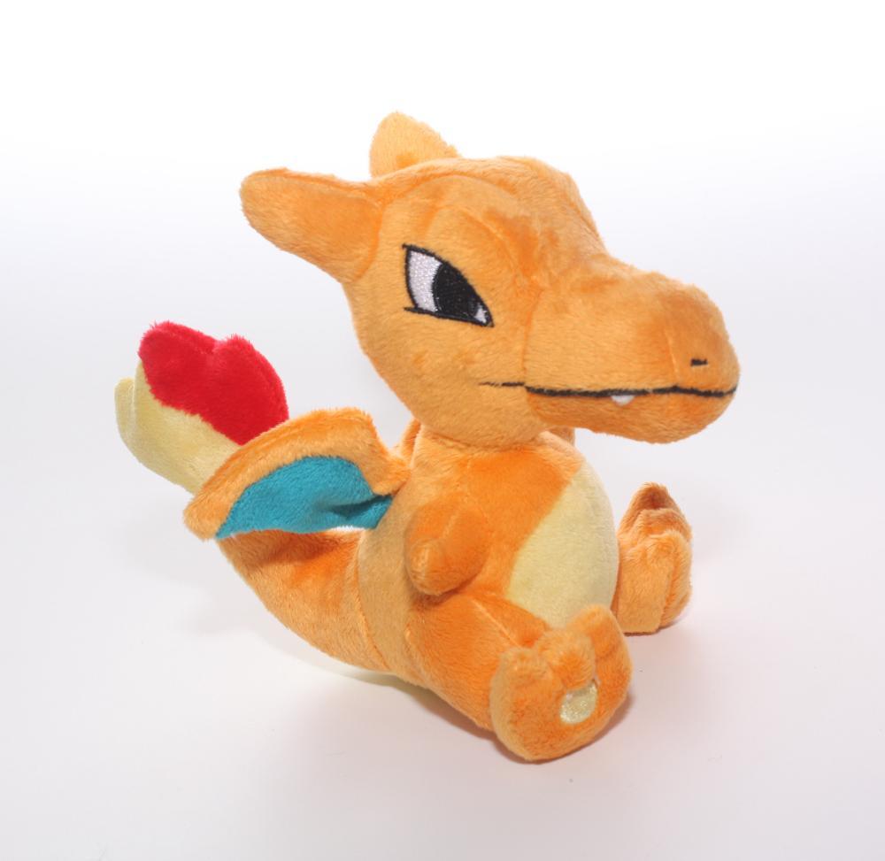 10pcs/lot 13cm Anime Cartoon Pokemon Charizard Plush Stuffed Animal Figure Doll Toy <br>