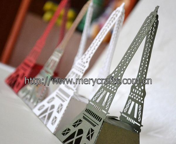 50pcs/lot White Creative Hollow Eiffel Tower Candy Box Wedding Favor Boxes Gift Box Candy Box(China (Mainland))