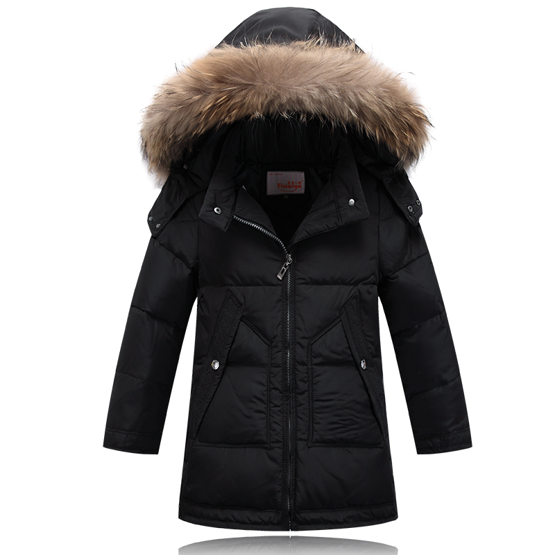 children's jackets fashion 2016 boys winter jacket thick hooded parkas warm boys winter coat down jacket winter child outerwear(China (Mainland))