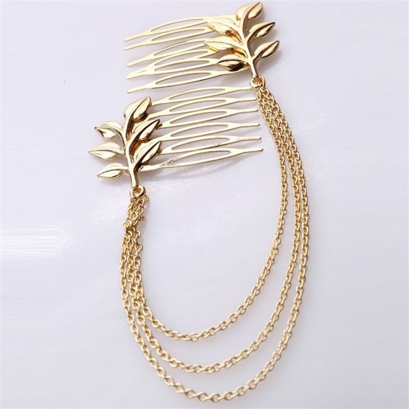New head chain hair combs pins jewelry hair accessories for women wedding chinese hair pin comb accessories jewellery accesories(China (Mainland))