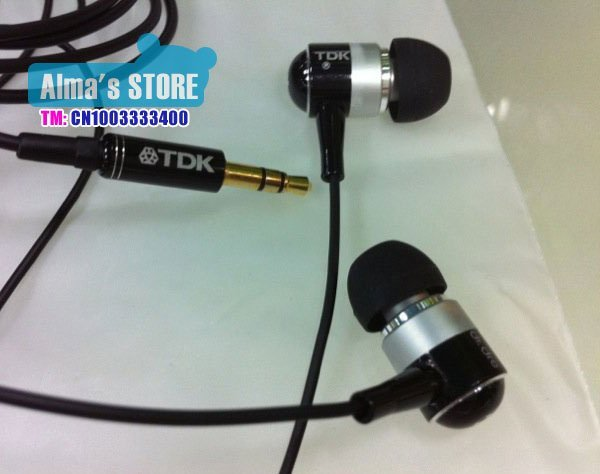 free shipping TDK  TH-EB800 earphone in metail in ear earphone black