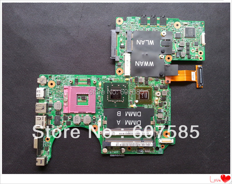For DELL XPS M1330 1330 Laptop Motherboard Mainboard Non-integrated DDR2 P038J(China (Mainland))