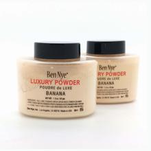Maquiagem Famous Brand Banana Powder Natural Face Loose Waterproof Brighten Long-lasting Face Foundation Banana Loose Powder(China (Mainland))