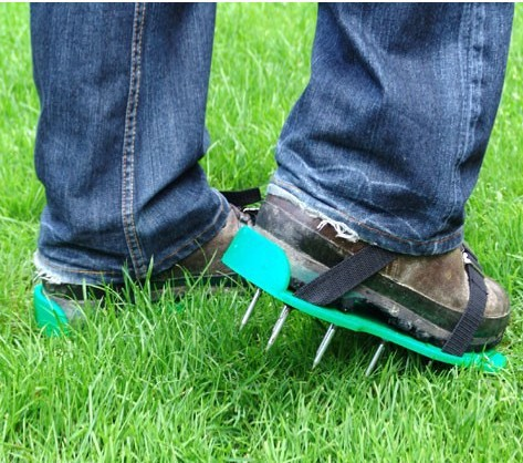 Lawn Care Garden Lawn Shoe Aerator Sandals With Spike nails gardening