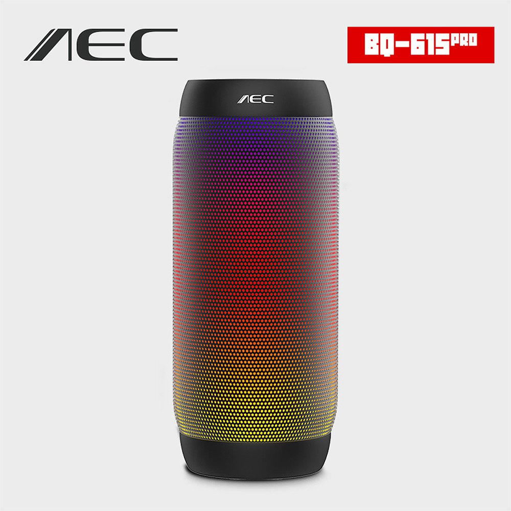 HOT AEC colorful Waterproof Bluetooth Speaker Wireless NFC Super Bass Subwoofer Outdoor Sport Sound Box FM Portable Speaker(China (Mainland))