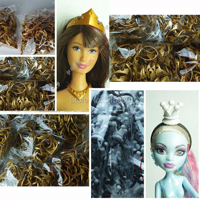 Wholesales 100pieces/lot original head wear crown for monster high doll accessory for barbie dolls<br><br>Aliexpress