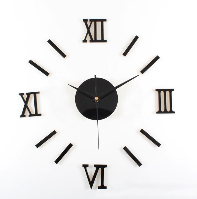 Acrylic Clock In Wall Clocks Plastic Digital Movement 2016