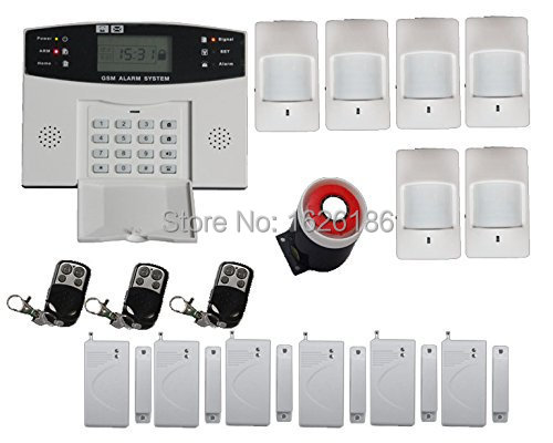 FDL-30A-437Free shipping Wireless SMS Home GSM Alarm system House intelligent Burglar Security Alarm System<br><br>Aliexpress