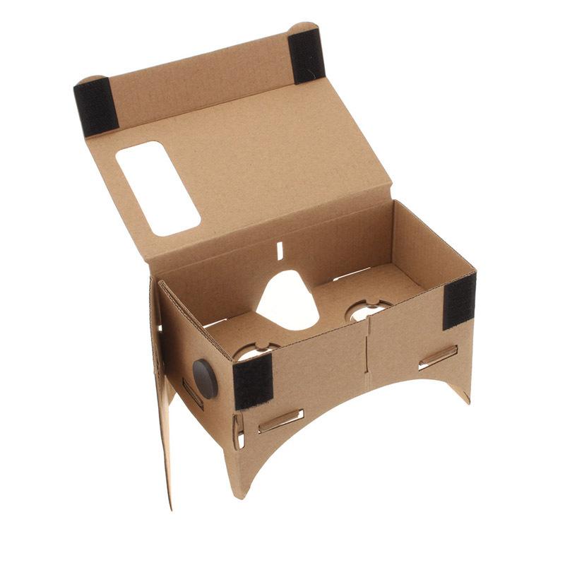Google VR 3D Glasses virtual reality DIY Mobile Phone Viewing phone 5.0 inch Screen - AlihPark store