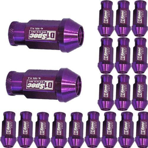 hot high quality Lot 20 For HONDA / for ACURA / for CIVIC / for ACCORD / for Toyota Spec Purple Wheel Lug Nuts M12 X1.5 MM(China (Mainland))