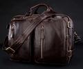 New 2015 Multi Function Genuine Leather Men s Messenger Bag Leather Shoulder Bag Men Crossbody Bag