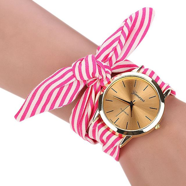 Zegarek damski GENEVA Long Stripe różne kolory