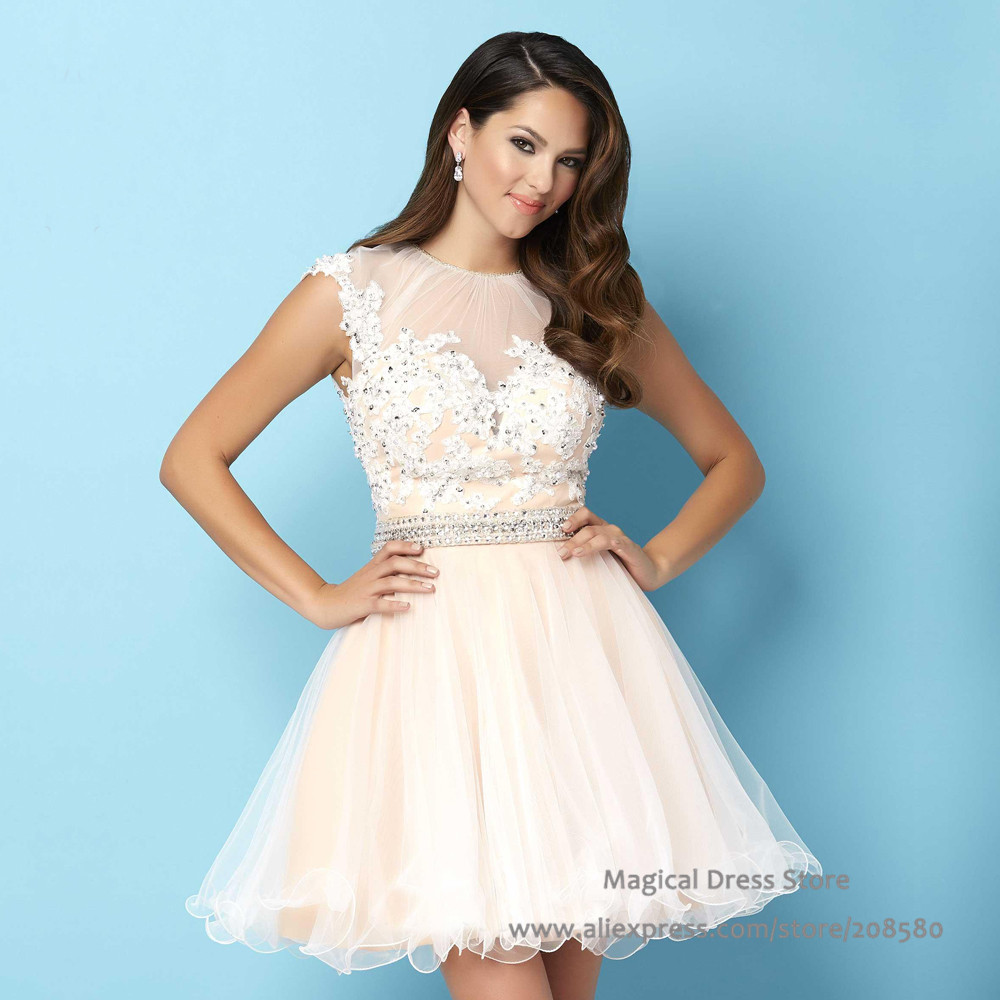 8th Grade Prom Dress with Bow On Back – fashion dresses
