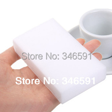 100 pcs/lot White Magic Sponge Eraser Melamine Cleaner,multi-functional Cleaning 100x60x20mm Wholesale & Retial(China (Mainland))