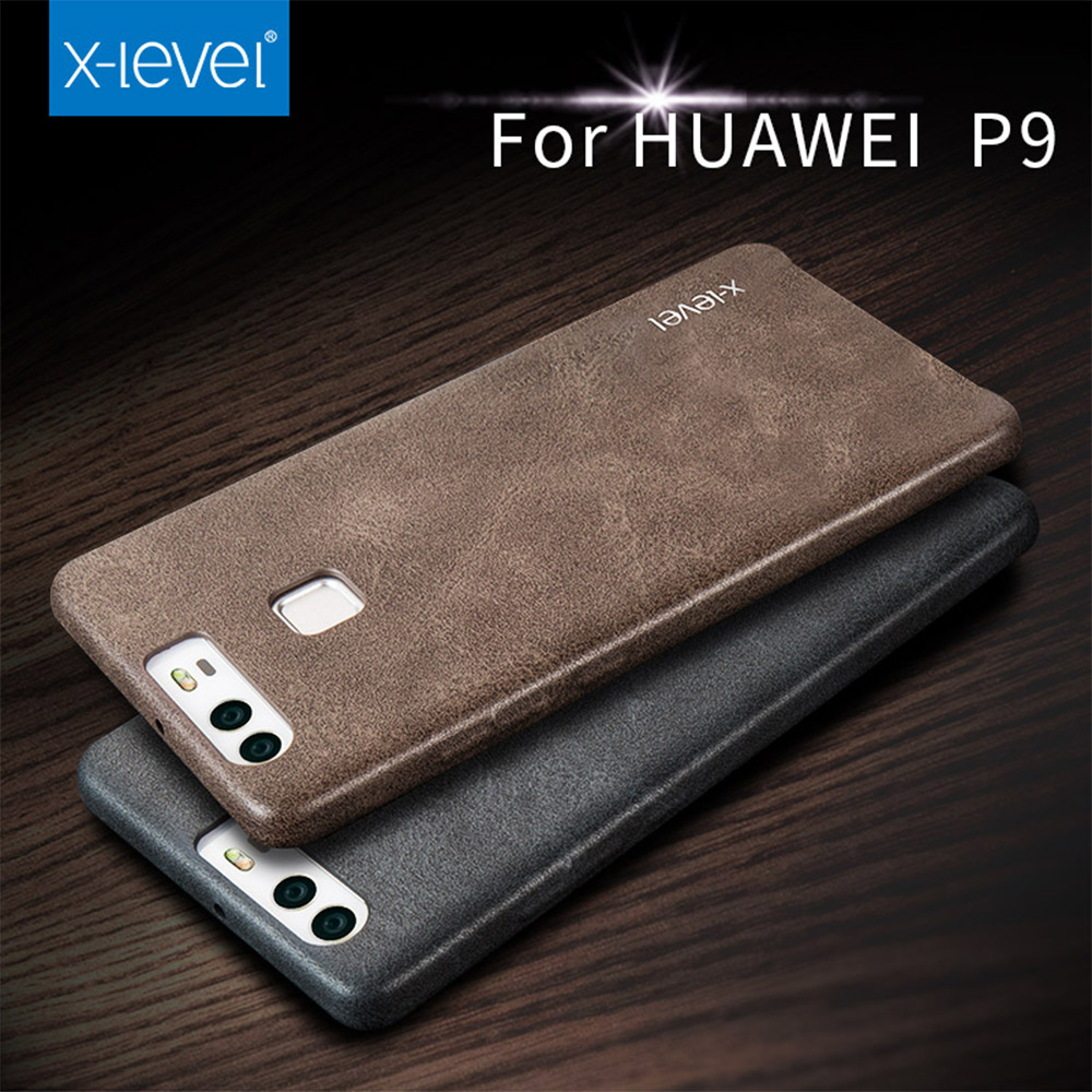 2016 x level pu leather for phone case huawei p9 plus back. Black Bedroom Furniture Sets. Home Design Ideas