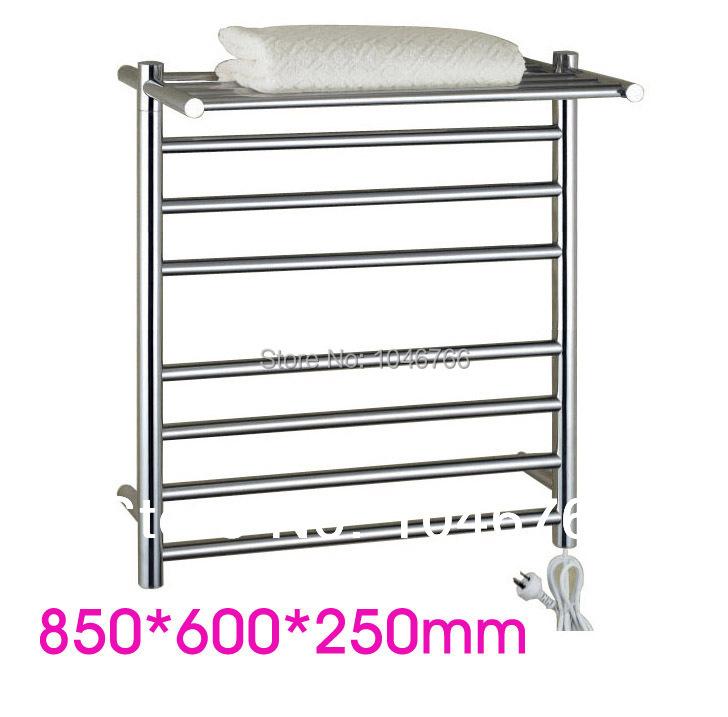 304' stainless steel towel warmer, electric towel rail, heated towel rail, towel radiator, bathroom accessories(China (Mainland))