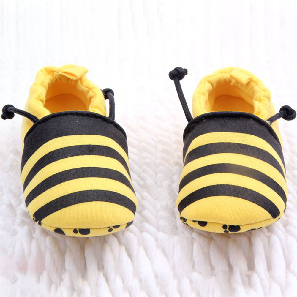 Lovely Infants Baby Soft Cotton Animal Bees Ladybird Design Prewalk Shoes 0-12M - STARKING store