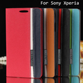 Leather Case for Sony Xperia Z5 Z4 Z3 Z2 Z1 M5 M4 M2 C5 C4 E4