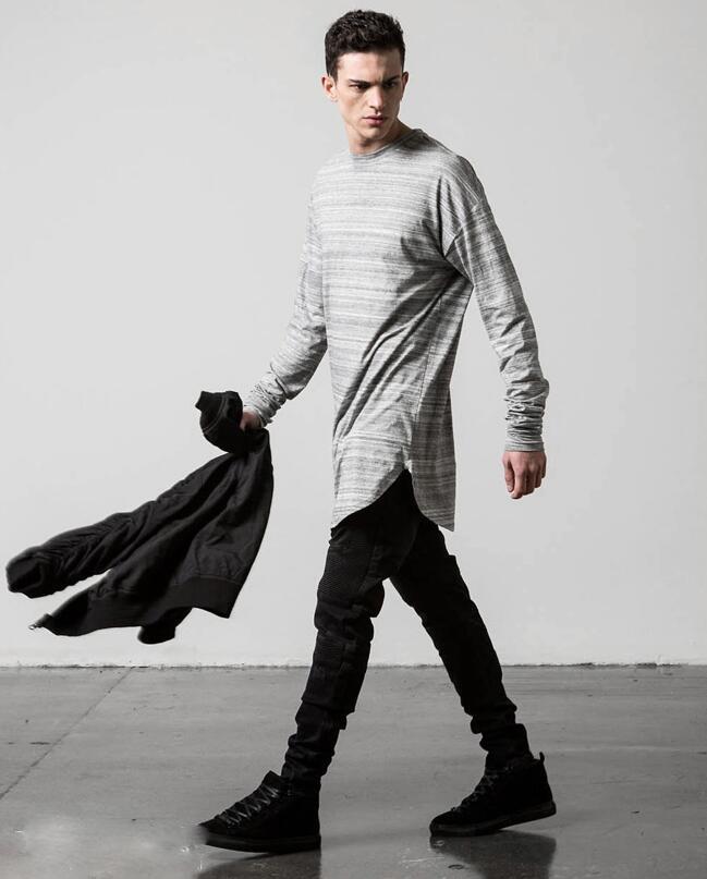 hip hop men fashion 2016 brand clothing justin bieber swag tee top extend oversize hoodies homme. Black Bedroom Furniture Sets. Home Design Ideas
