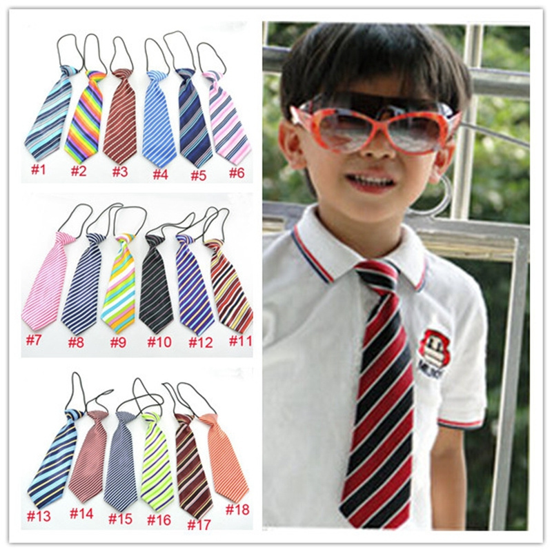 Children ties Kids necktie Boys Girls Ties Baby scarf neckwear neckcloth/tie 120color 120pcs free shipping LD001(China (Mainland))