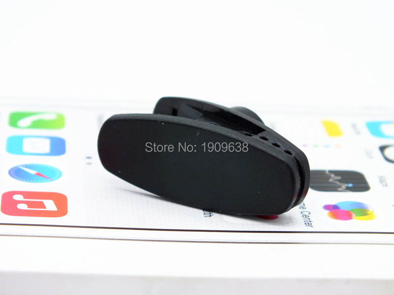 image for 4pcs New Black Clamps For MP3/4 And Other Headphones Headset Clamp Cli